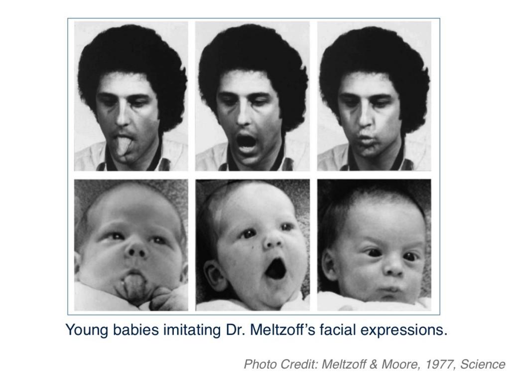 Imitation From Birth